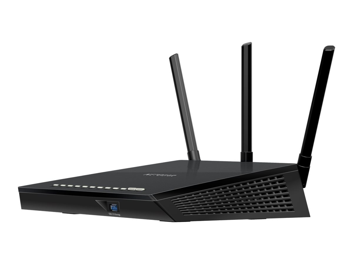 Netgear AC1750 Dual Band 802.11ac Smart WiFi Router, R6400-100NAS
