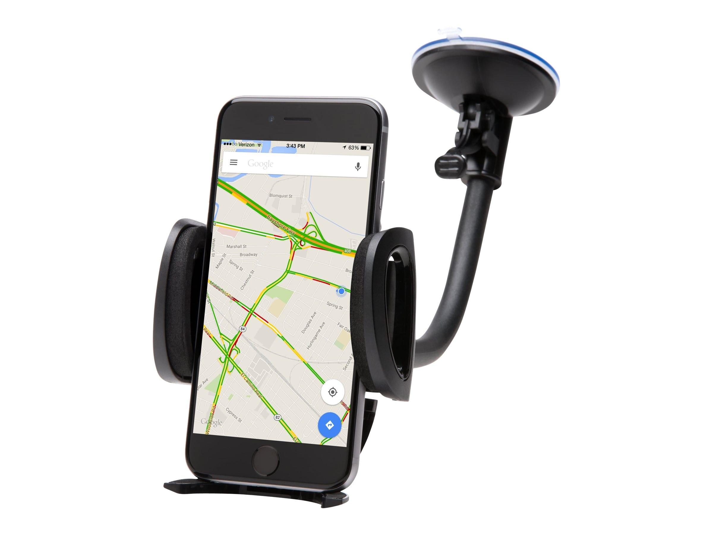 Kensington 3.74 Universal Car Mount, Black