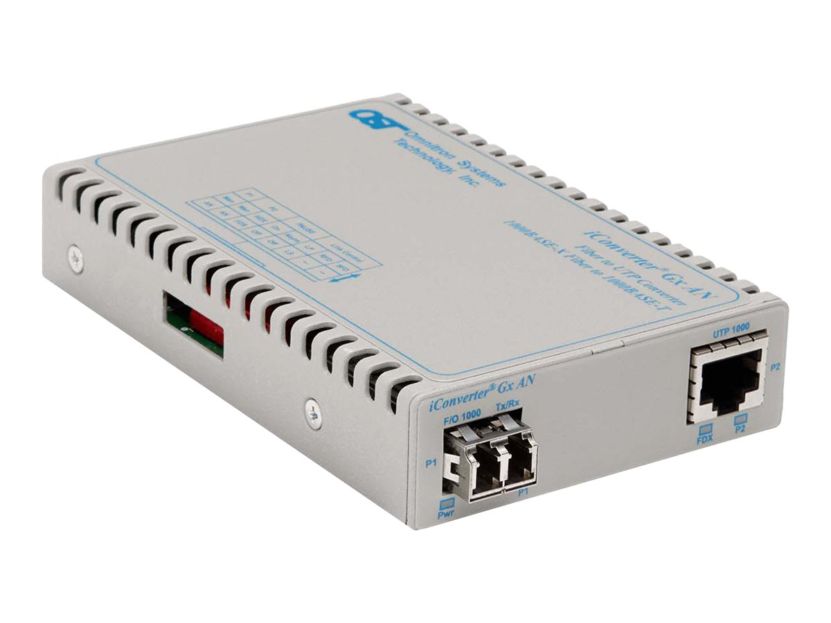 Omnitron iConverter GXAN 1000BT to 1000BSX, 8506N-0-A, 13141831, Network Transceivers