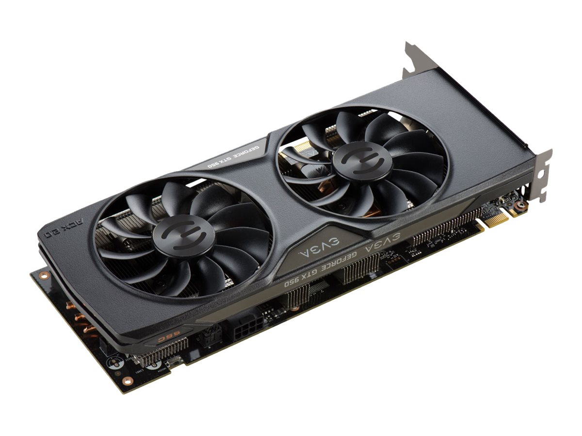 eVGA GeForce GTX 950 PCIe SuperSuperClocked Graphics Card, 2GB GDDR5