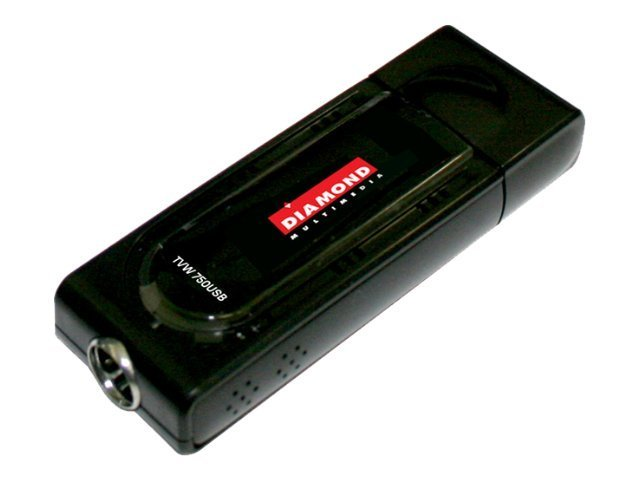 Diamond Multimedia TV Wonder 750 USB HD TV Tuner, TVW750USB, 10718551, TV Tuner