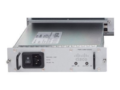 Cisco AC Power Supply 1000W for Catalyst 4900M Router, PWR-C49M-1000AC, 8316966, Power Supply Units (internal)