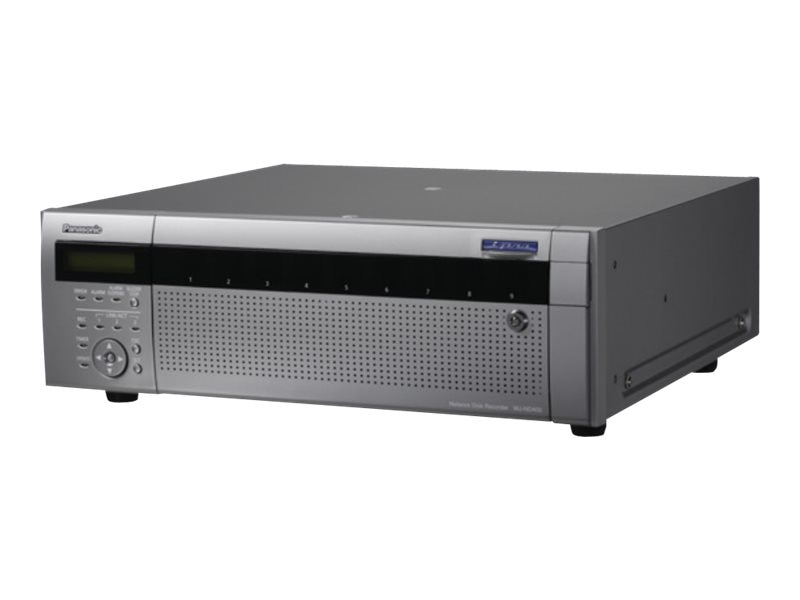 Panasonic i-Pro NVR with Removable 2TB Hard Disk Drives, WJ-ND400/4000T2, 16389920, Security Hardware