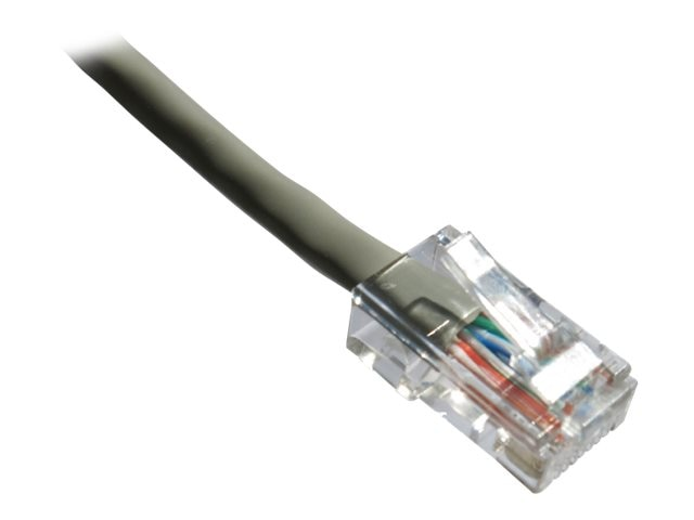 Axiom CAT5E 350mhz Bootless Patch Cable, Gray, 4ft