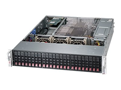 Supermicro Chassis, SuperChassis 216BE2C-R920WB 2U RM E-ATX (2)Intel AMD 24x2.5 HS SAS SATA Bays 2x920W, CSE-216BE2C-R920WB, 17894557, Cases - Systems/Servers
