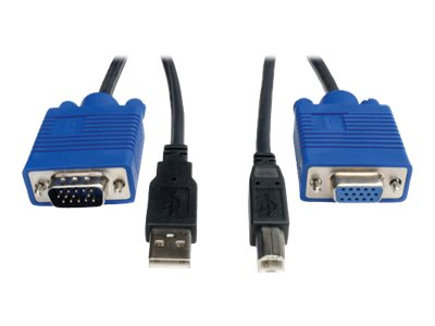 Tripp Lite USB Cable Kit for KVM Switch, 6ft (P758-006), P758-006, 227691, Cables