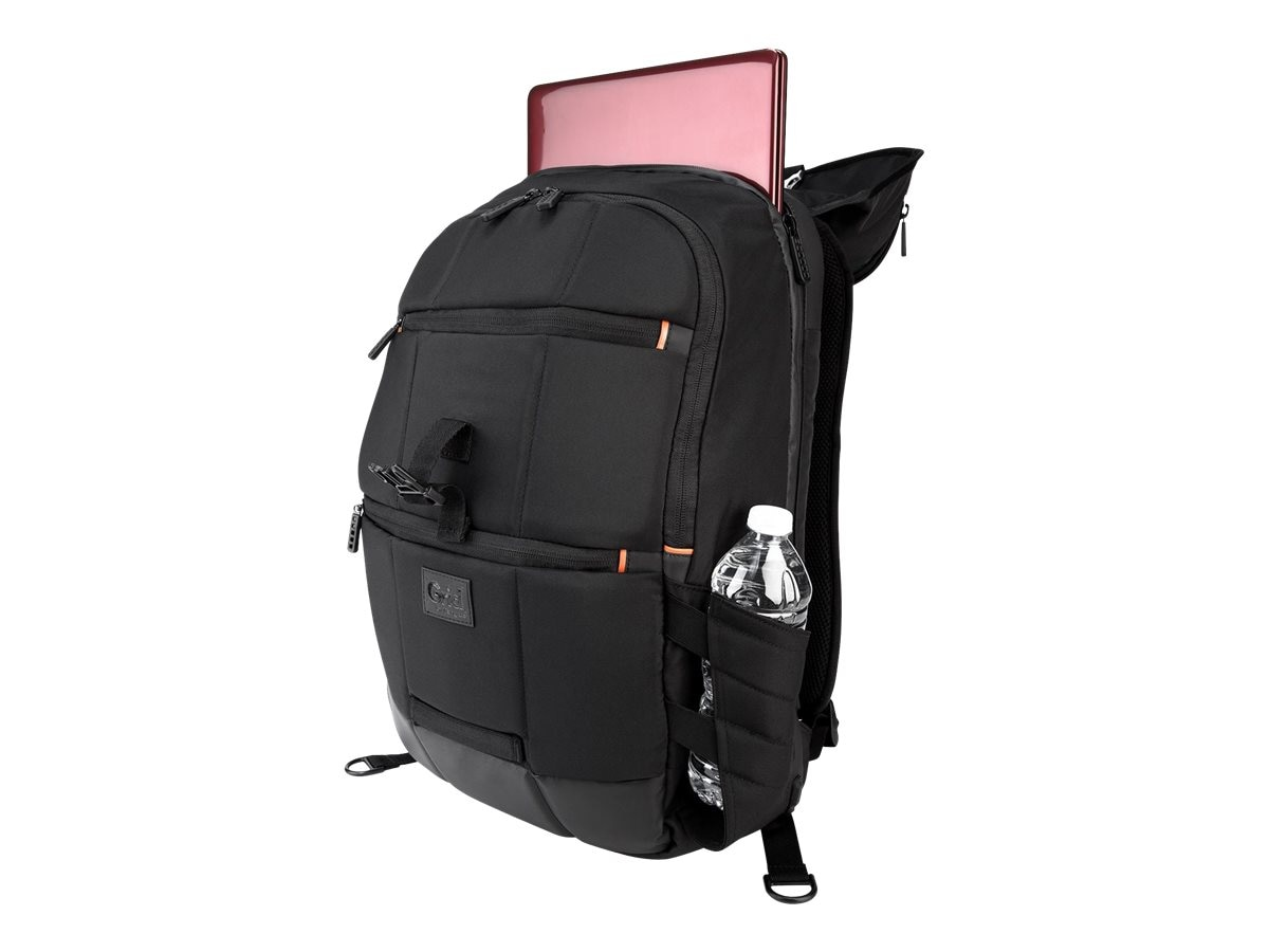 Targus Grid Backpack, 3 Compartments, Up to 16 Display, Black, TSB850