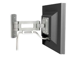 Bretford Manufacturing Single Arm Small Flat Panel Mount 9.5 Extension, FPSM-W-1-AL, 6514184, Stands & Mounts - AV
