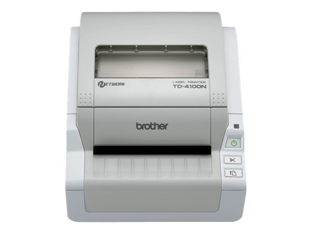 Brother TD-4100N Desktop Bar Code Network Printer, TD4100N