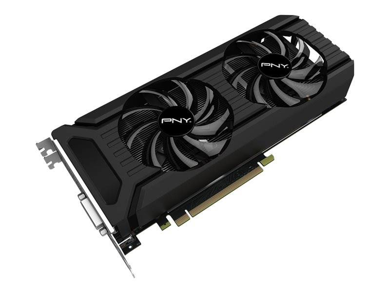 PNY GeForce GTX 1060 PCIe Graphics Card, 6GB GDDR5, VCGGTX10606PB