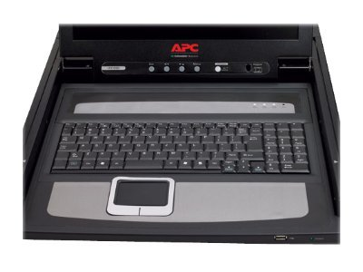 APC 19 Rack LCD Console, PS 2 and USB, AP5719