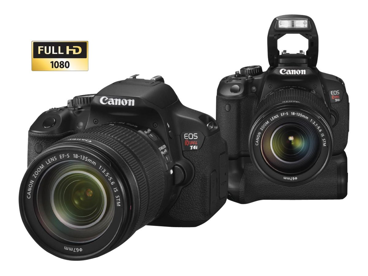 Canon Canon EOS Rebel T4i Digital Camera (Body Only), 6558B001, 14404170, Cameras - Digital - SLR