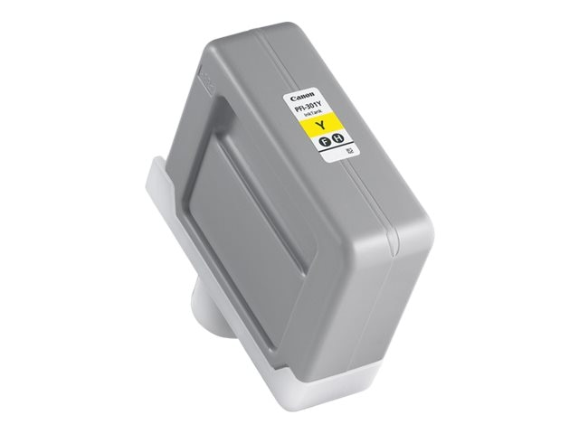 Canon Pigment Yellow PFI-301Y Ink Tank for iPF8000 iPF9000
