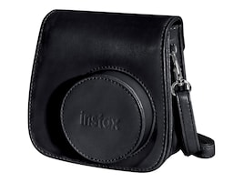 Fujifilm Instax Groovy Camera Case w  Shoulder Strap for Instax Mini 8 Instant Camera, Black, 600015374, 21730150, Carrying Cases - Camera/Camcorder