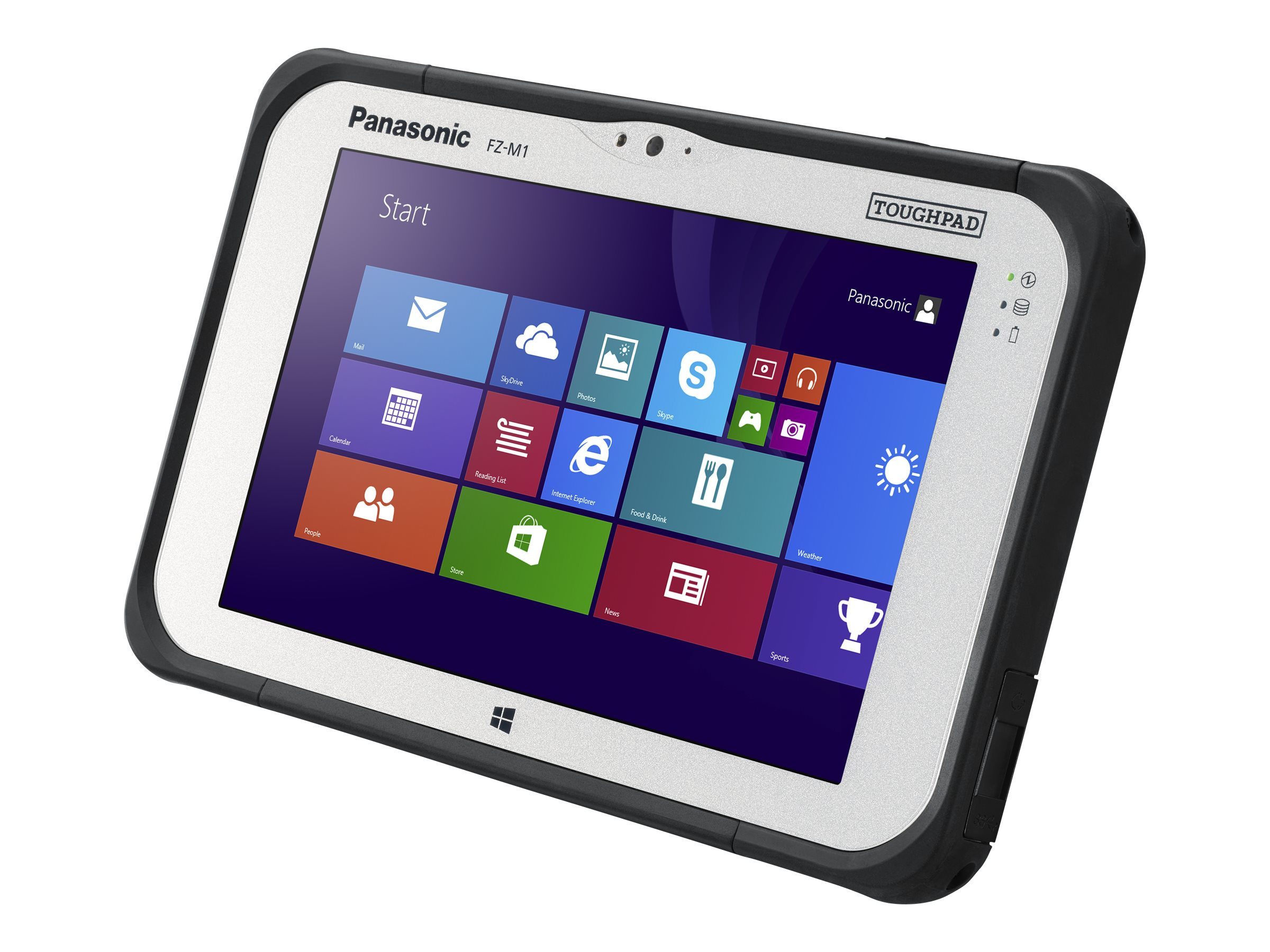Panasonic Toughpad FZ-M1 vPro Core i5-4302Y 1.6GHz 7 WXGA MT W8.1, FZ-M1CEBCABM, 16976227, Notebooks - Convertible
