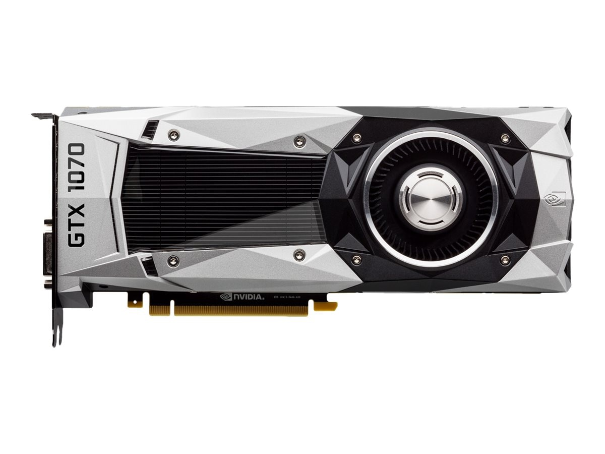 eVGA GeForce GTX 1070 PCIe 3.0 x16 Founders Edition Graphics Card, 8GB GDDR5