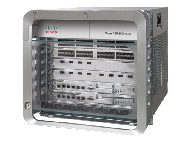 Refurb. Cisco Refurb. ASR 9006 DC PERP Chassis w PEM Version, Cisco Warranty