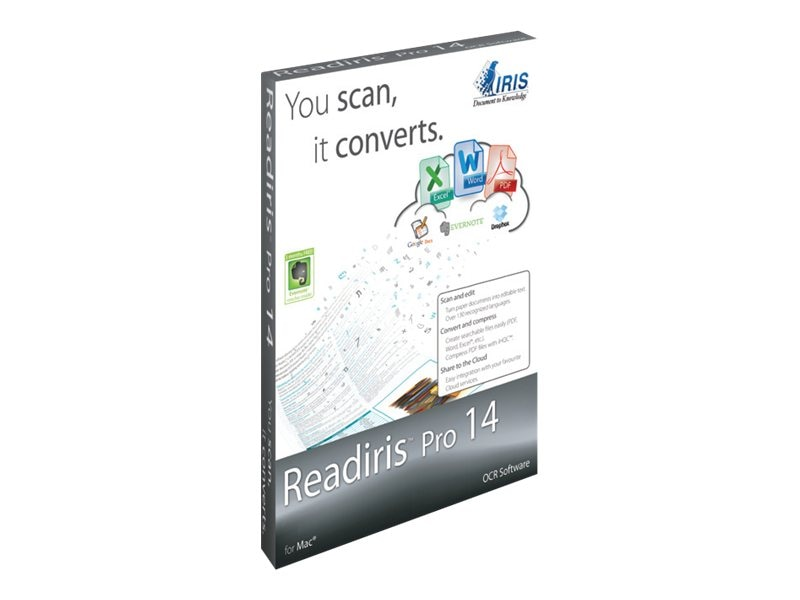 IRIS ReadIris 14.0 Pro for Mac, 457477, 15023871, Software - OCR & Scanner