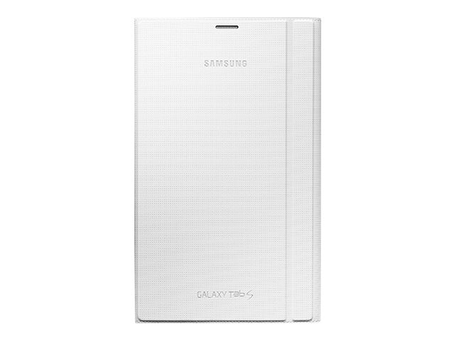 Samsung Book Cover for Galaxy Tab S 8.4, Dazzling White, EF-BT700WWEGUJ, 17429778, Carrying Cases - Tablets & eReaders