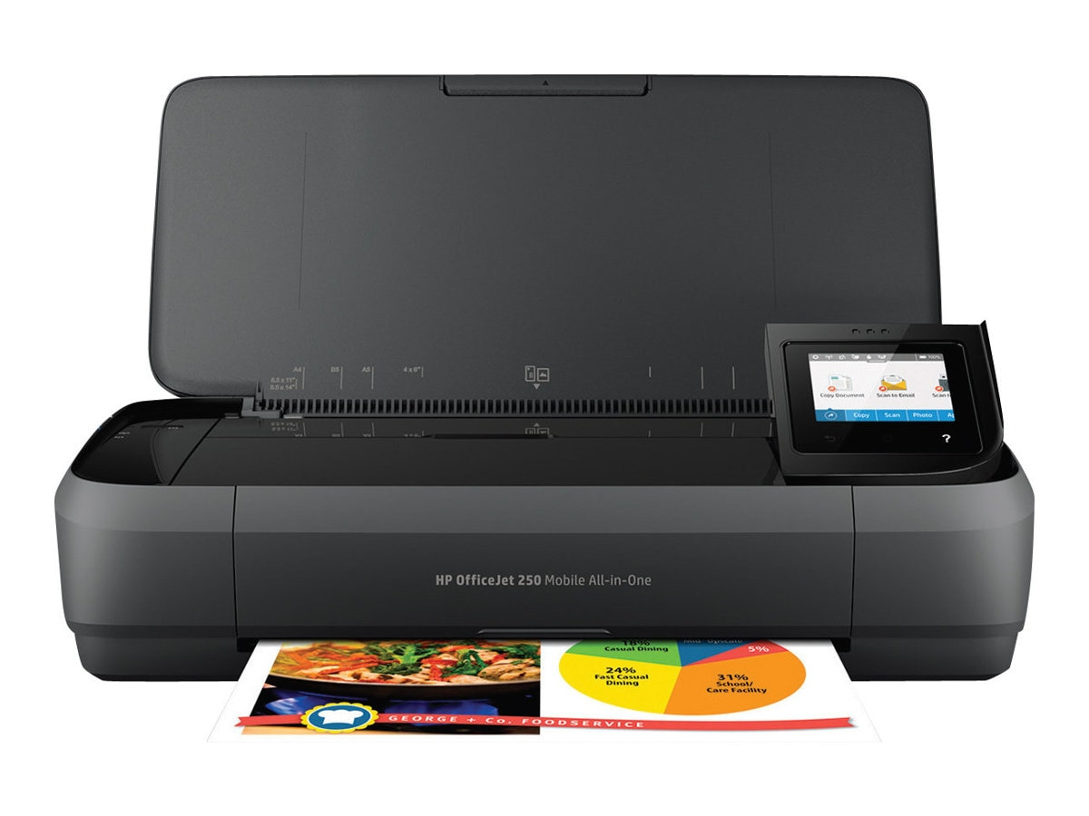 HP Officejet 250 Mobile All-In-One Printer, CZ992A#B1H