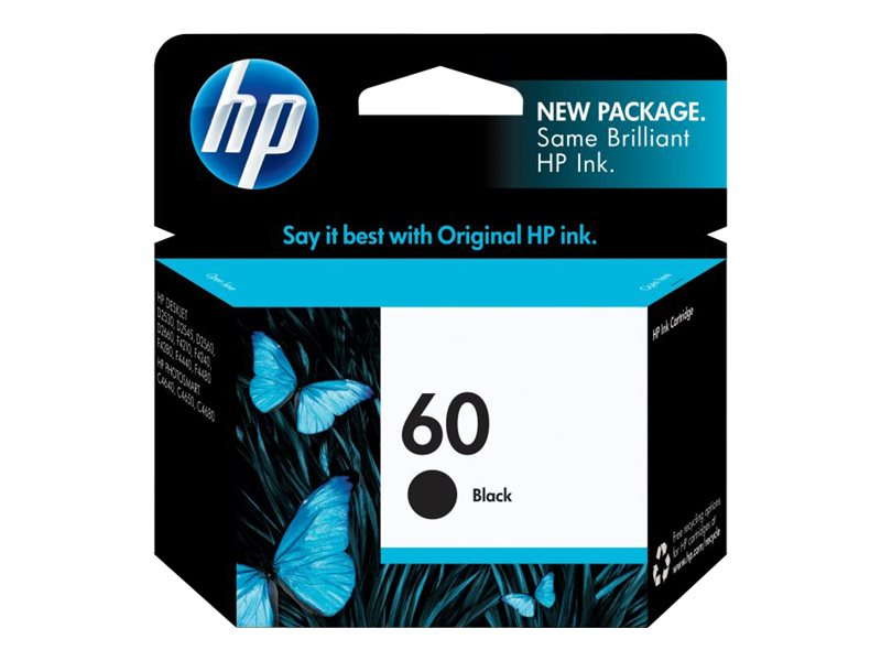 HP 60 (CC640WN) Black Original Ink Cartridge