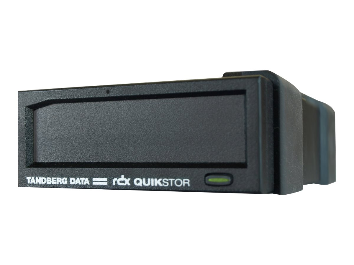 Tandberg Data RDX QuickStor USB 3.0 External Drive - Black, 8782-RDX