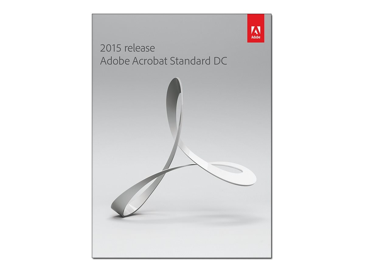 Adobe Acrobat Standard DC 2015 Win DVD, 65257524, 19648149, Software - File Sharing