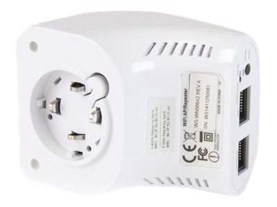 StarTech.com AC750 Dual Band Wireless-AC Wall Plug AP, Router & Repeater, WFRAP433ACD
