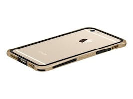 Macally Plastic Polycarbonate Case for iPhone 6, Champagne, IRONP6MCH, 31201981, Carrying Cases - Phones/PDAs