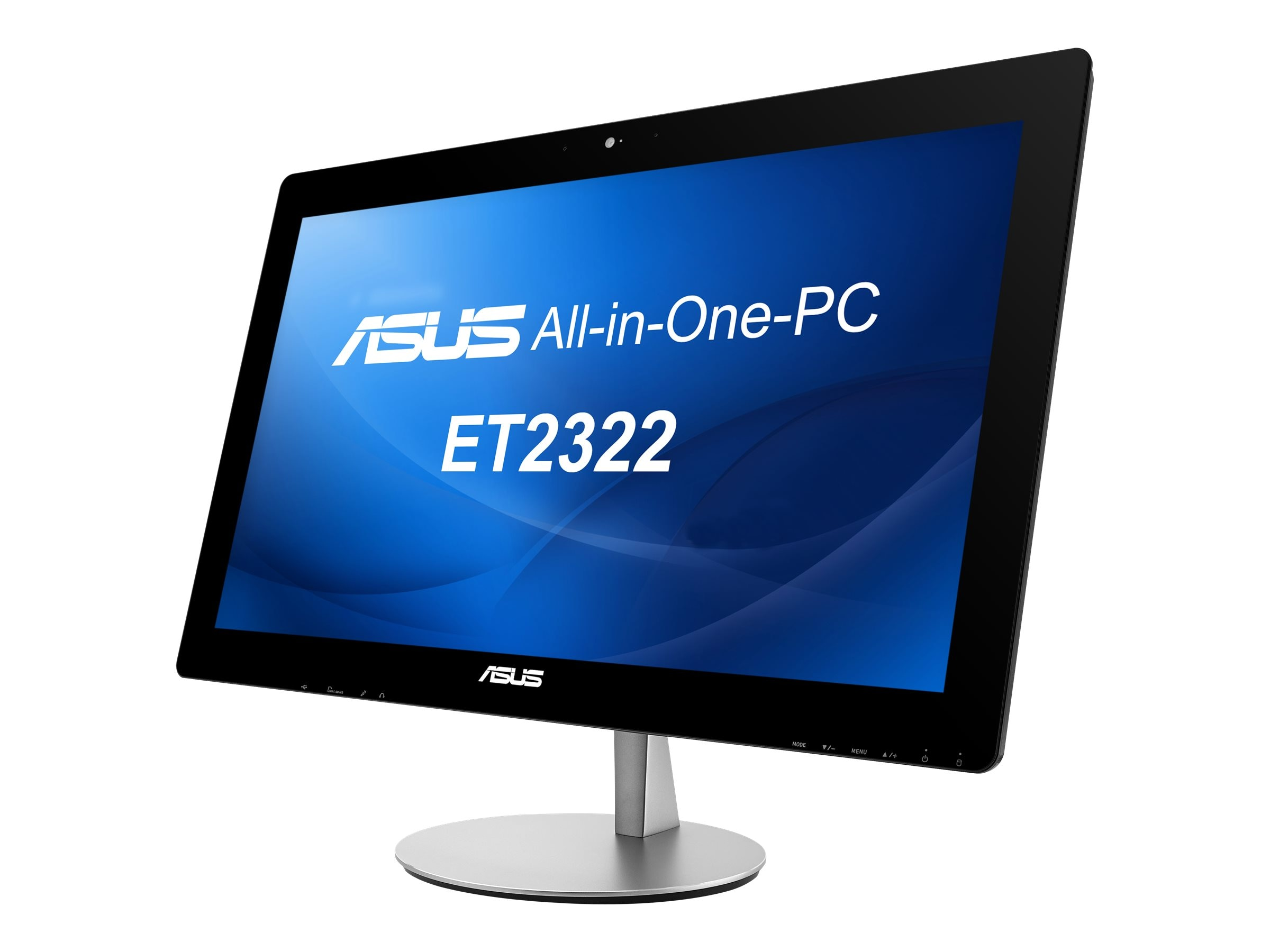 Asus ET2322IUTH-C2 AIO Core i3-4010U 1.7GHz 8GB 1TB IntelHD DVD-RW ac BT WC 23 FHD MT W8.164, ET2322IUTH-C2, 17950141, Desktops - All-in-One