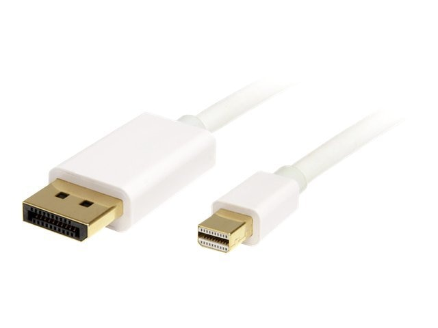 StarTech.com Mini DisplayPort to DisplayPort Cable, 2m, MDP2DPMM2MW, 14049631, Cables