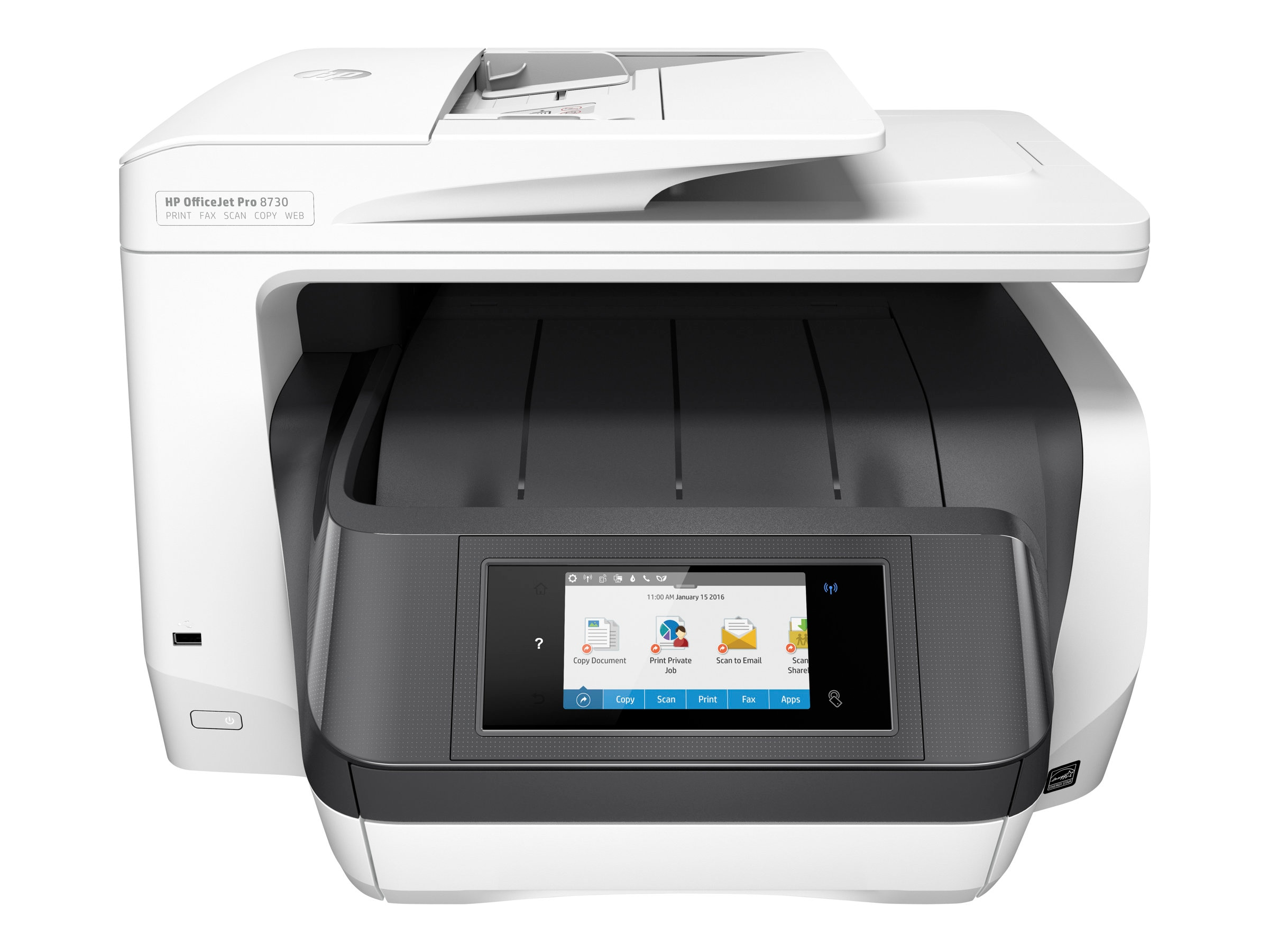 HP Officejet Pro 8730 e-All-in-One Printer, D9L20A#B1H