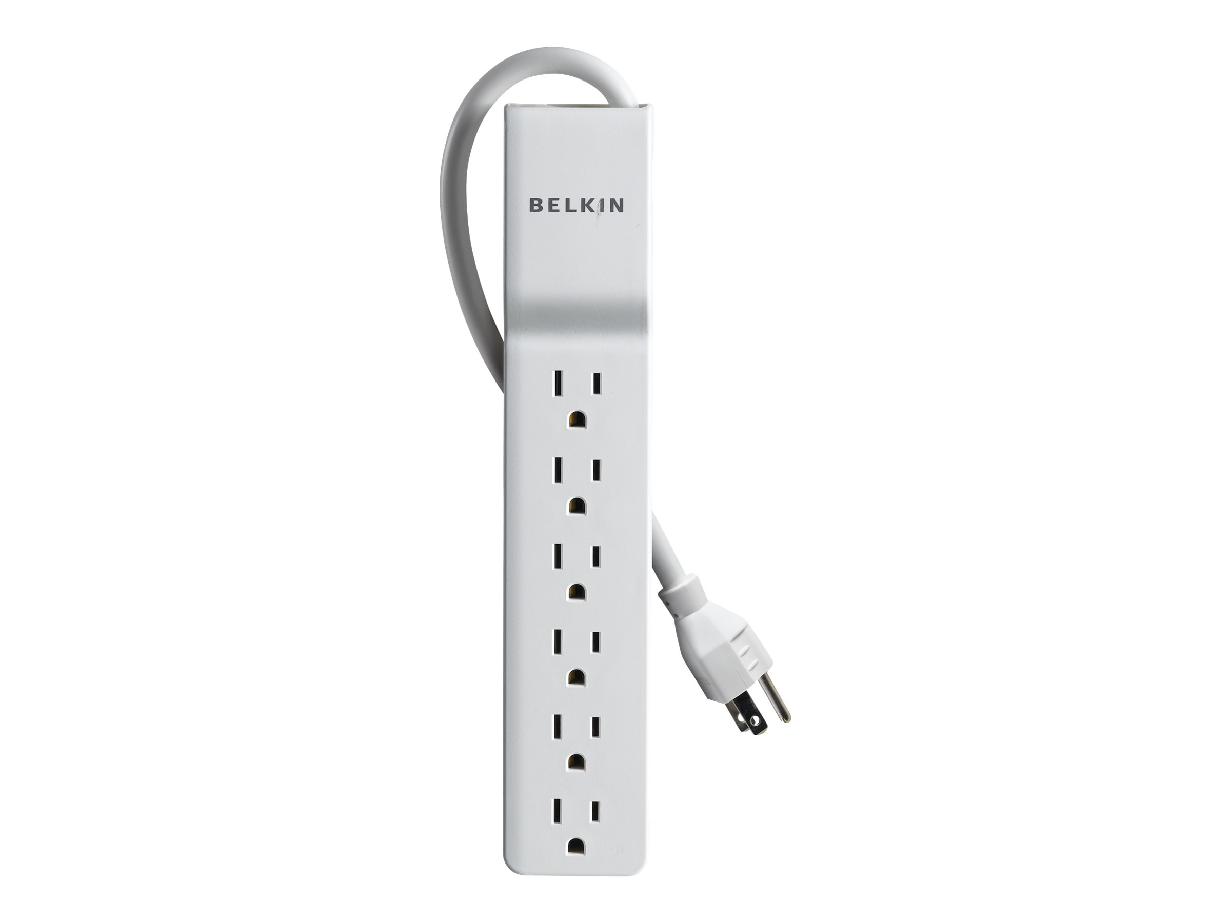 Belkin Home Office Series Surge Protector, 720 Joules, 6-Outlets, 4ft Cord, BE106000-04, 7080251, Surge Suppressors