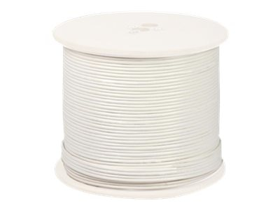 Night Owl Shielded RG-59 CCTV Cable with Video, Power, 18AWG, White, 1000ft, CAB-RG59W-1000VP