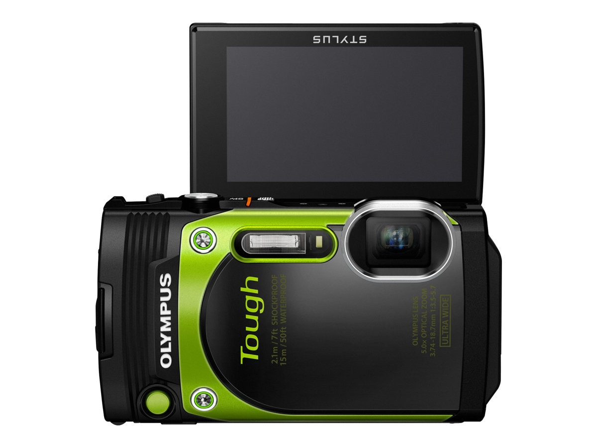 Olympus Stylus Tough TG-870 Digital Camera, Greeen, V104200EU000