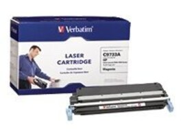 Verbatim Magenta Verbatim Toner Cartridge for HP LaserJet 5500 and 5550 Series Printers, 95353, 6696176, Toner and Imaging Components