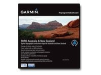 Garmin TOPO Australia & New Zealand microSD SD card