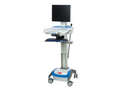 Rubbermaid M38 LCD Cart, DC, 55Amp, 9M38-00-D55, 12880421, Computer Carts - Medical