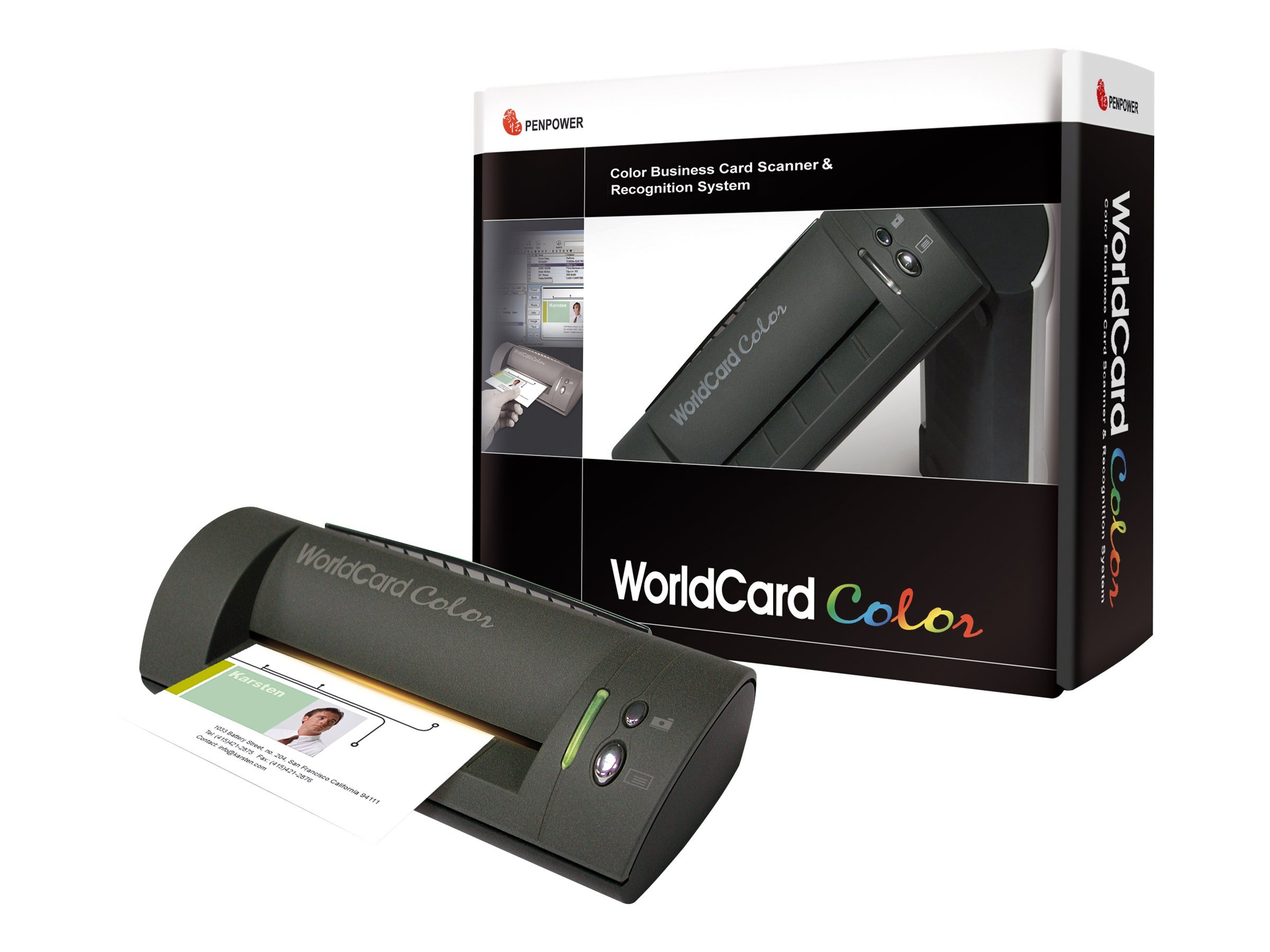 Alestron PenPower WorldCard Color Scanner V 6.2, SWOCR0012, 6413501, Scanners