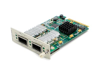 ACP-EP Media Converter Card 40G OEO MM TO SM QSFP 10KM For Add-Rack System, ADD-MCC40GQSFP, 16042601, Network Transceivers