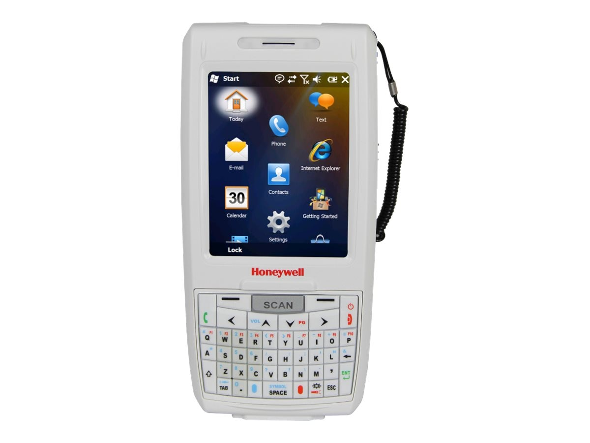 Honeywell Dolphin 7800HC, HD Imager, Camera, Laser Aimer, Qwerty, 256 512MB, BT, 7800L0Q-0C611XEH