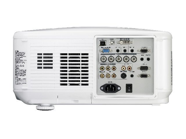 NEC NP4100W DLP Professional Integration Projector with 07ZL Lens, 5500 Lumens, NP4100W-07ZL
