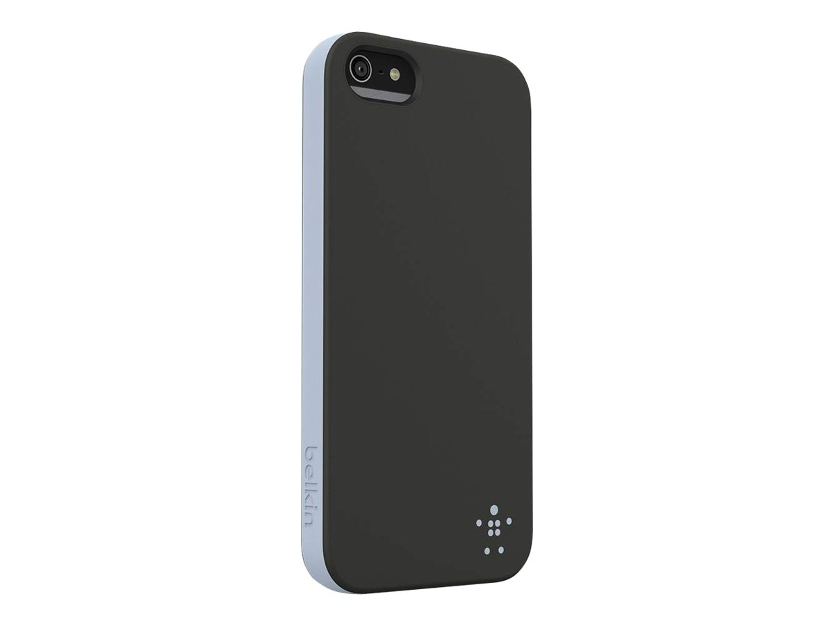 Belkin Grip Candy for iPhone 5, Blacktop Ice, F8W152TTC00, 14860925, Carrying Cases - Phones/PDAs