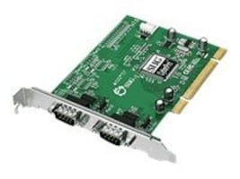 Siig CyberSerial Dual 950 PCI Card w  16950 Serial Ports, JJ-P29012-S7, 13131755, Controller Cards & I/O Boards