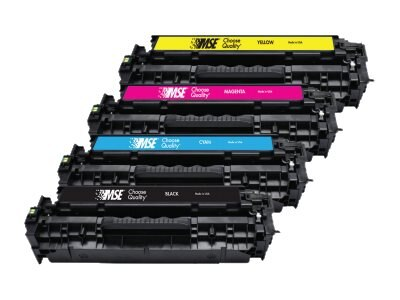 CE410A Black Toner Cartridge for HP M451 M475, 02-21-41014, 31175807, Toner and Imaging Components