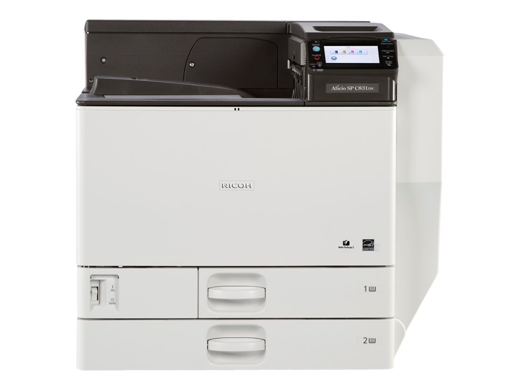 Ricoh Aficio SP C831DN Color Printer, 407803