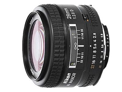 Nikon AF Nikkor 28mm F 2.8D Lens, 1922, 8896227, Camera & Camcorder Lenses & Filters
