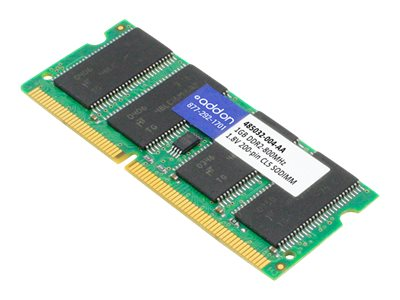 ACP-EP 1GB PC2-6400 200-pin DDR2 SDRAM SODIMM for HP, 485032-004-AA