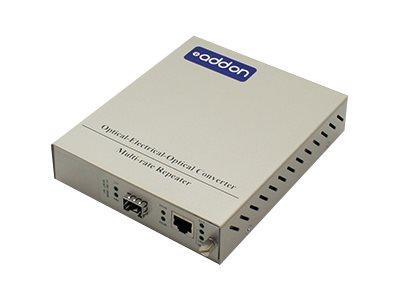 ACP-EP 1Gbps RJ-45 to SFP Media Converter, ADD-MCCTXSFP-SK