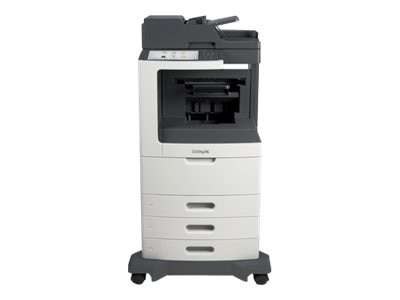 Lexmark MX811dte Monochrome Laser Multifunction Printer, 24T7423